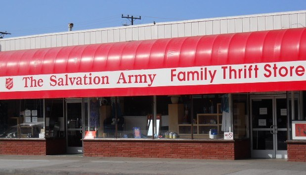 Salvation Army California Thrift Store Locations Los Angeles Sacramento